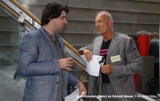 Mart Roumen met Ronald Mauer